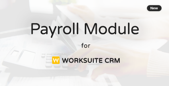 Payroll Module For Worksuite CRM