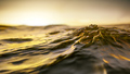 golden sunset ocean wave background - PhotoDune Item for Sale