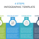 4 Steps Infographics - GraphicRiver Item for Sale