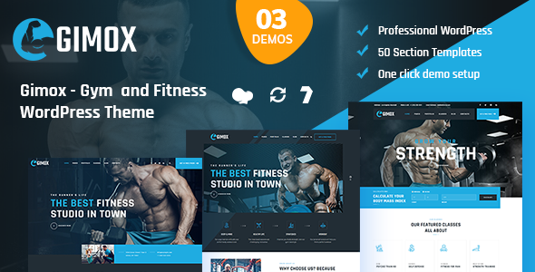 Gimox - Gym and Fitness WordPress Theme
