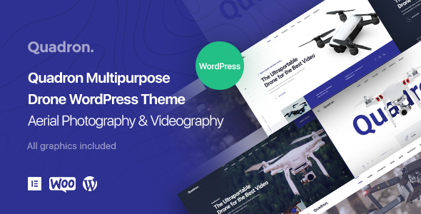 Quadron | Multipurpose Drone WordPress Theme