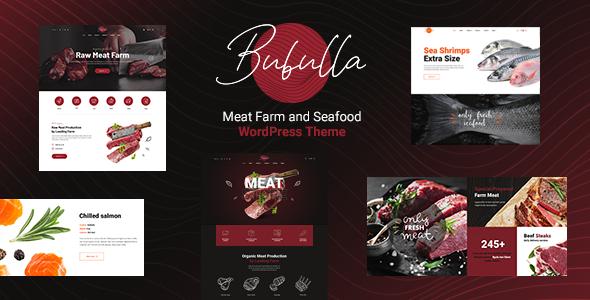 Bubulla - Meat Farm & Seafood Store WordPress Theme