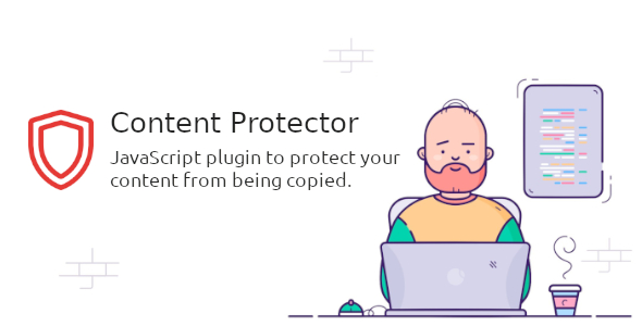Content Protector — JavaScript plugin to protect your content from being copied.