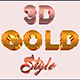 Golden Text Effects For Photoshop V2 - GraphicRiver Item for Sale