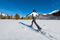 Walk with snowshoes in an expanse of snow - PhotoDune Item for Sale