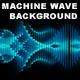 Machine Wave Background (Loop) - VideoHive Item for Sale