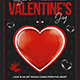 Valentines Day Flyer Template V24 - GraphicRiver Item for Sale