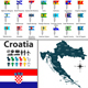 Map of Croatia - GraphicRiver Item for Sale