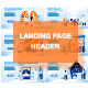Landing Page Template Header - GraphicRiver Item for Sale