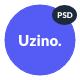 Uzino   Premium Startup App PSD Template - ThemeForest Item for Sale