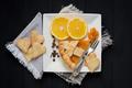 slice of pie with orange - PhotoDune Item for Sale