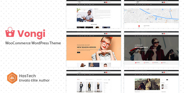 Vongi - WooCommerce WordPress Theme
