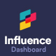 Influence - Bootstrap Admin Panel Template for Web Apps - ThemeForest Item for Sale