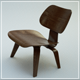 Eames LCW Chair - 3DOcean Item for Sale