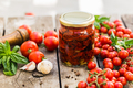 Sun dried tomatoes in glass jar - PhotoDune Item for Sale