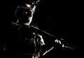 Army elite troops soldier low key studio portrait - PhotoDune Item for Sale
