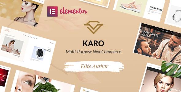 Karo   Multi-Purpose WooCommerce WordPress Theme
