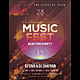 Music Club Party Flyer / Poster - GraphicRiver Item for Sale