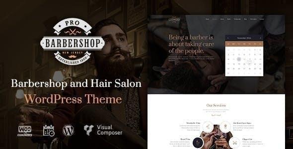 Barbershop | WordPress Theme