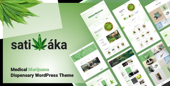 Sativaka - Medical Marijuana Dispensary Theme