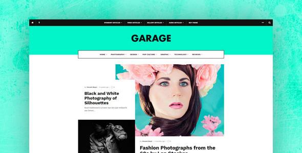 Garage - Creative & Magazine WordPress Theme