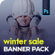 Winter Sale Banner Pack - GraphicRiver Item for Sale