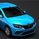 Renault Logan 2018 - 3DOcean Item for Sale