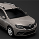 Renault Logan MCV 2018 - 3DOcean Item for Sale