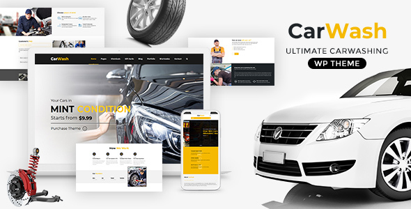 Car Wash - Auto Spa WordPress Theme
