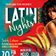 Latin Night Party Flyer - GraphicRiver Item for Sale