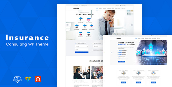 Insurance Agency WordPress, Payday Loan Theme