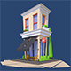 Low Poly Cafe - GraphicRiver Item for Sale