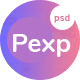 Pexp - Creative Agency PSD Template - ThemeForest Item for Sale