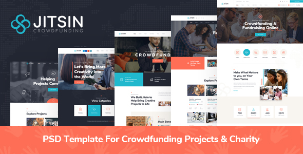 Crowdfunding Website Templates From Themeforest