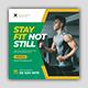 Fitness Social Media Kit - GraphicRiver Item for Sale