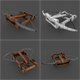 Ballista rigged Animation LowPoly - 3DOcean Item for Sale