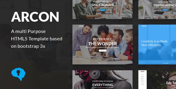 Arcon - Creative Multi-Purpose HTML Template