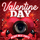 Valentine Day Heart Beat Party Flyer - GraphicRiver Item for Sale