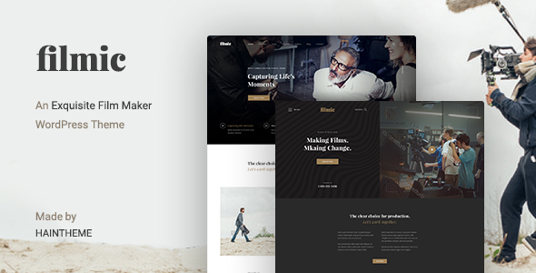 Filmic - Movie Studio & Film Maker WordPress Theme