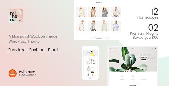 Minera - Minimalist WooCommerce WordPress Theme