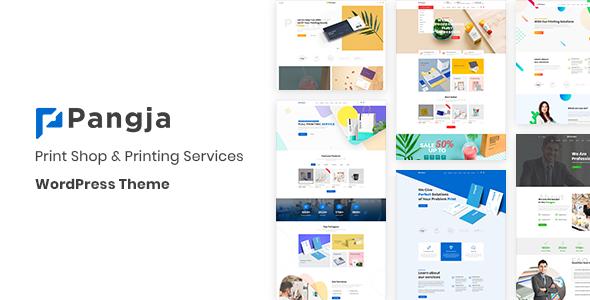 Pangja - Print Shop WordPress theme