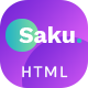 Saku - Agency And Business HTML Template - ThemeForest Item for Sale