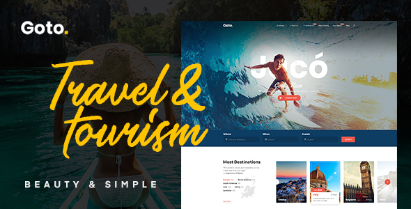 Goto - Tour & Travel WordPress Theme