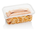 fast food in a plastic container - PhotoDune Item for Sale