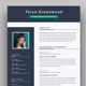 2 Page Resume - GraphicRiver Item for Sale