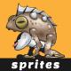 Punk Frog Sprites | 2D Game Asset - GraphicRiver Item for Sale