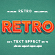 Retro Vintage Text Effects For Photoshop V1 - GraphicRiver Item for Sale