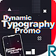 Dynamic Typography Promo - VideoHive Item for Sale