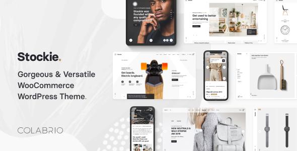 Stockie - Modern Multi-Purpose WooCommerce Theme