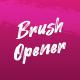 Modern Brush Onener - VideoHive Item for Sale